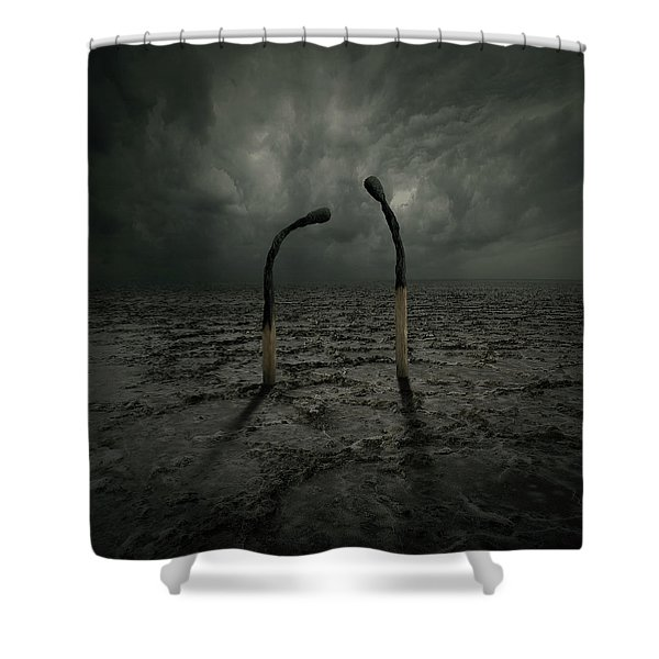 Not Arguing Shower Curtain