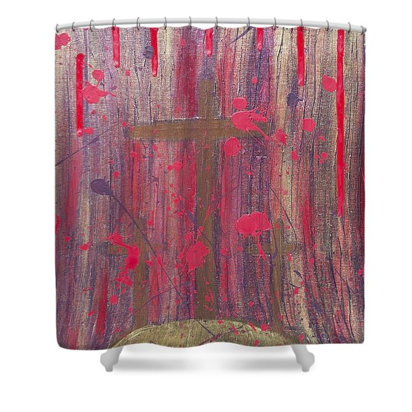 Not In Vain Shower Curtain