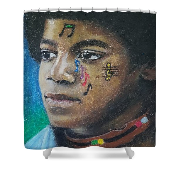 Notes Of Love Shower Curtain