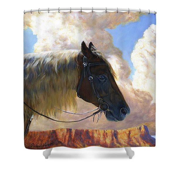 Nothin But Distance Shower Curtain