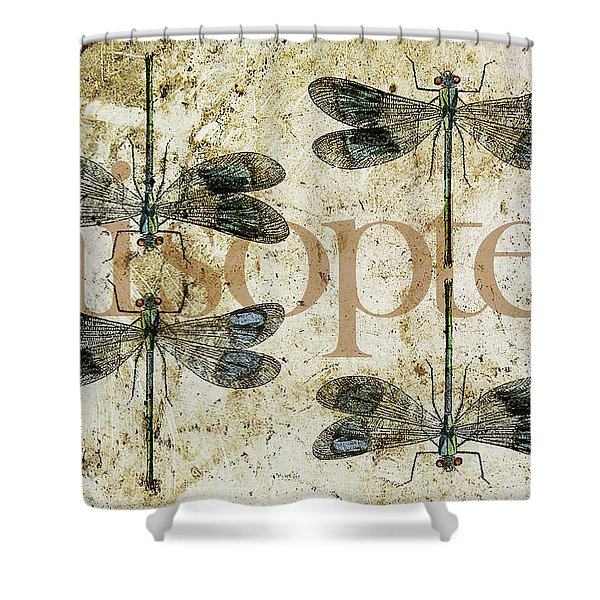 Nothing But A Rumor Shower Curtain