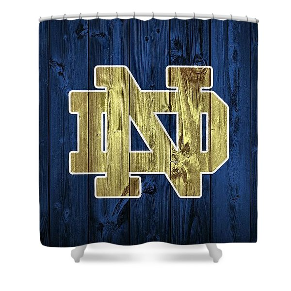 Notre Dame Barn Door Shower Curtain