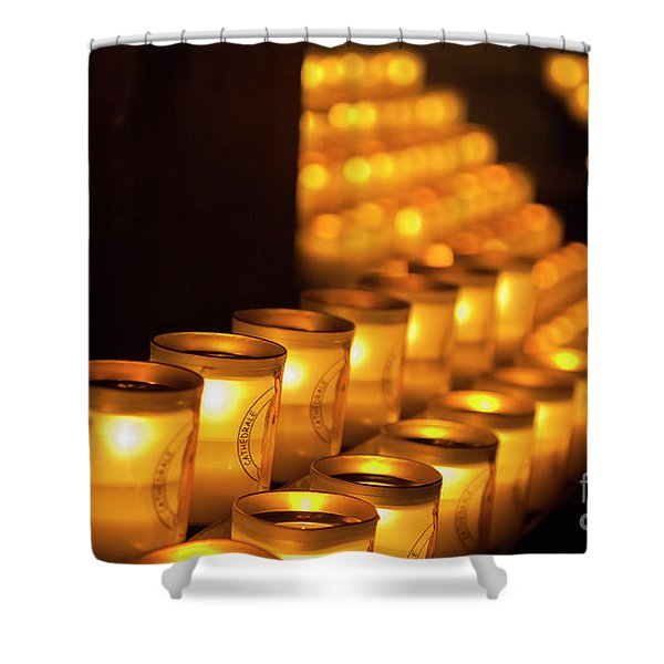 Notre Dame Candles Shower Curtain