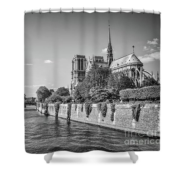 Notre Dame De Paris Shower Curtain