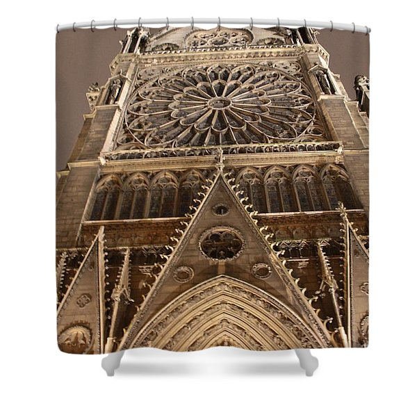 Notre Dame North Shower Curtain
