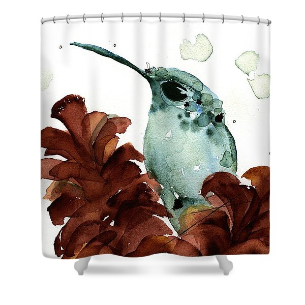 November Hummer Shower Curtain