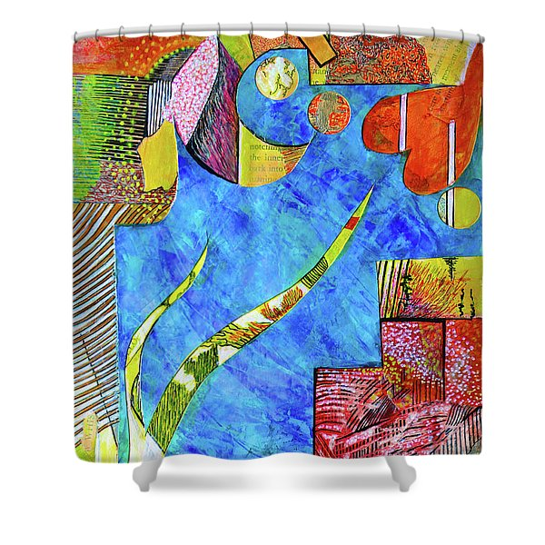 November State Of Mind Shower Curtain