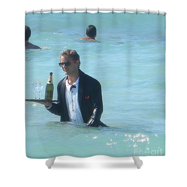 Now That's Service Shower Curtain