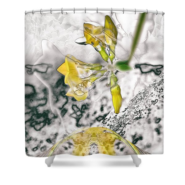 Now Where Were/are We? Shower Curtain