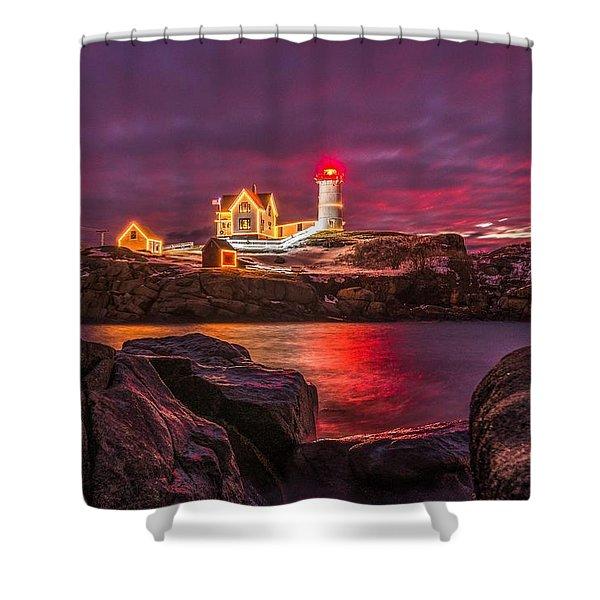 Nubble-rific Shower Curtain