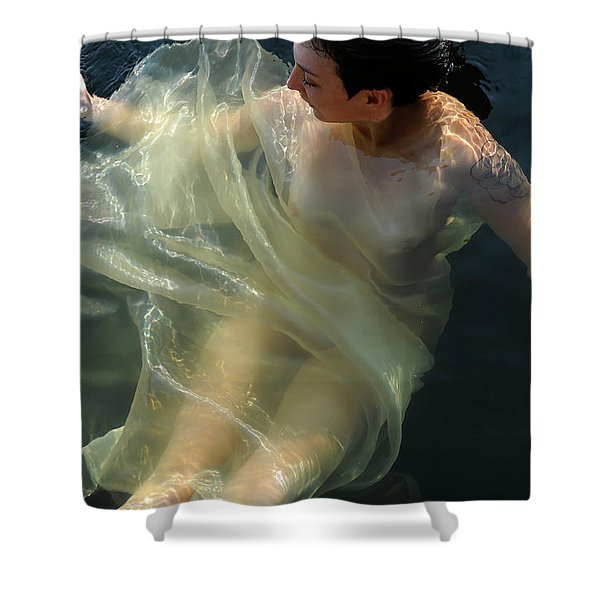 Embracing Pleasure Shower Curtain