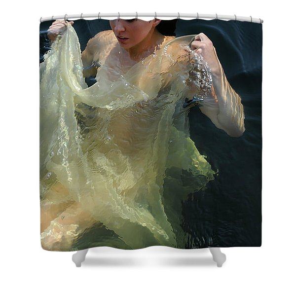 Celestial Motion Shower Curtain