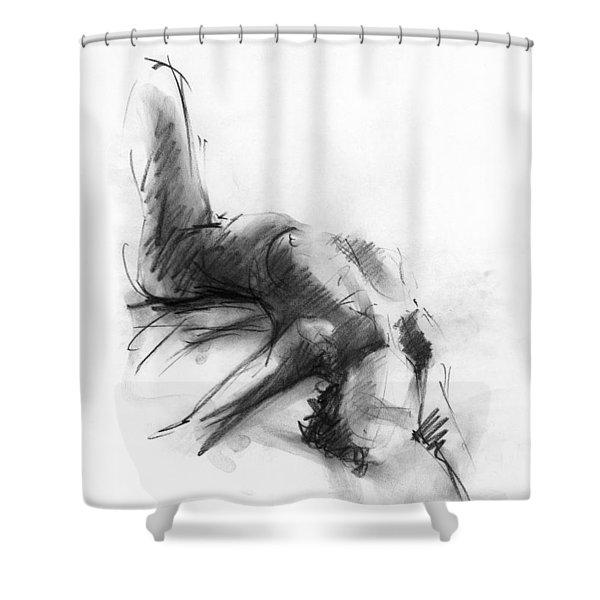 Nude 4 Shower Curtain