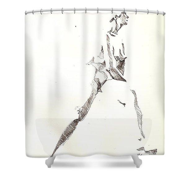 Nude 6 Shower Curtain