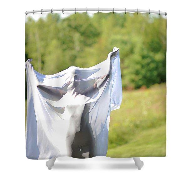 Spirit Like Shower Curtain