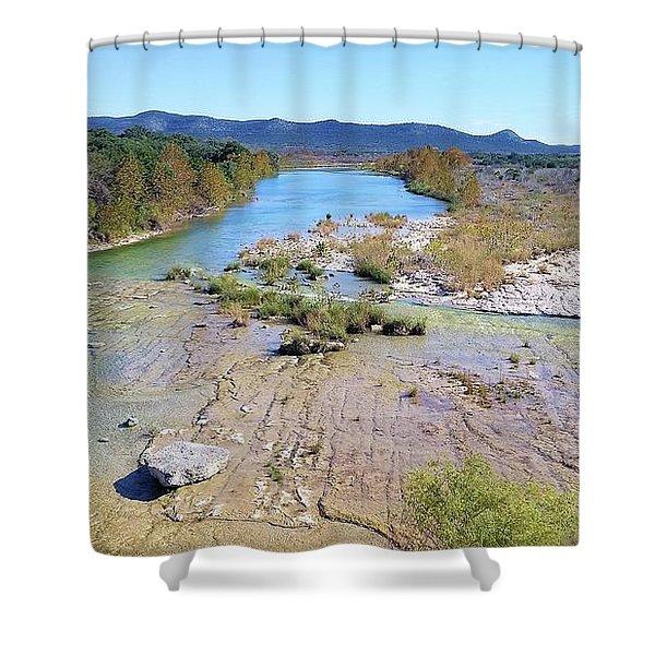 Nueces River Shower Curtain