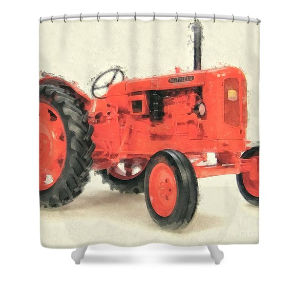 Nuffield Tractor Shower Curtain