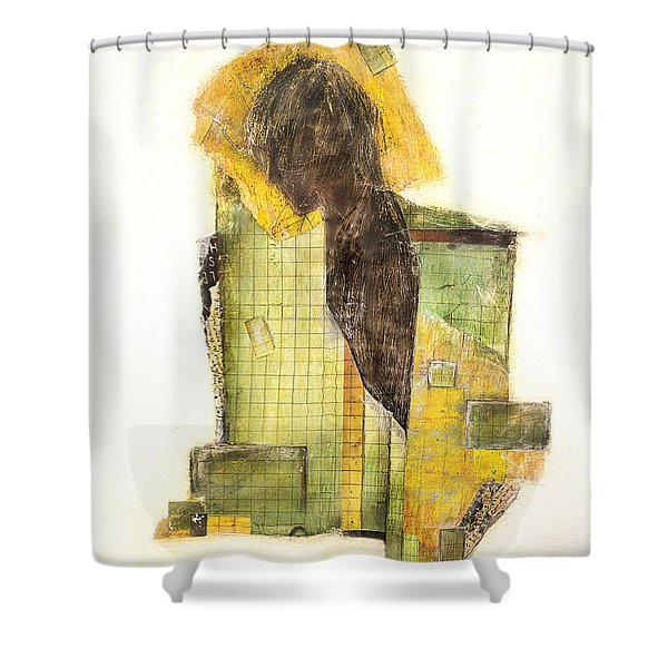 Numb Shower Curtain