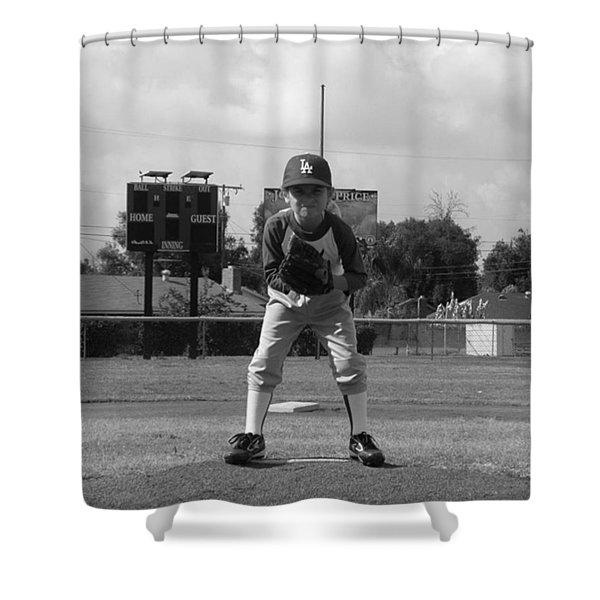 Number 22 Shower Curtain
