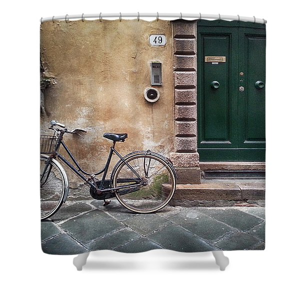 Number 49 Shower Curtain