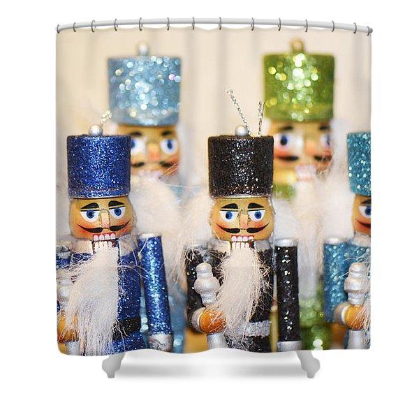 Nutcracker March Shower Curtain