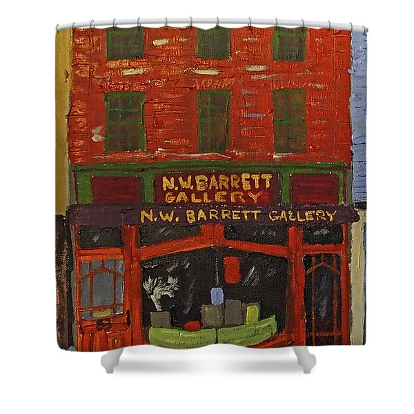 N.w.barrett Gallery Shower Curtain
