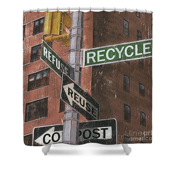 Nyc Broadway 1 Shower Curtain