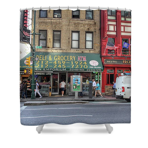 Nyc Deli And Grocery  Shower Curtain