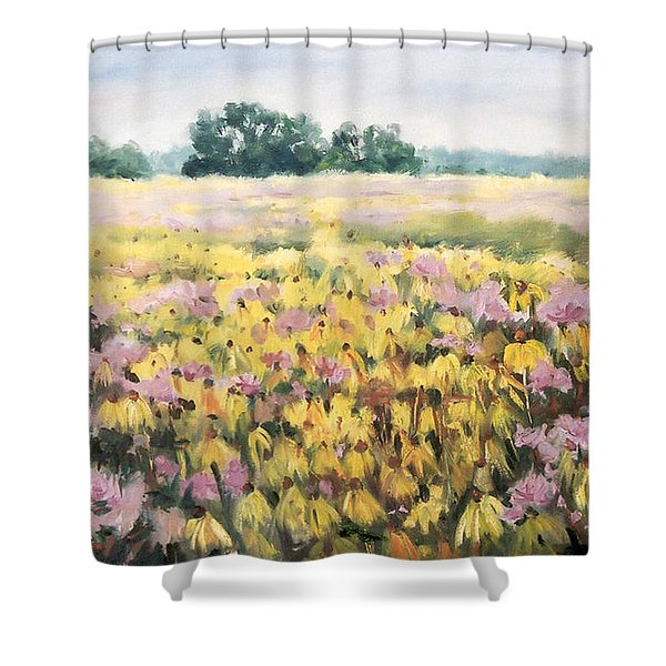 Nygren Wetlands Shower Curtain