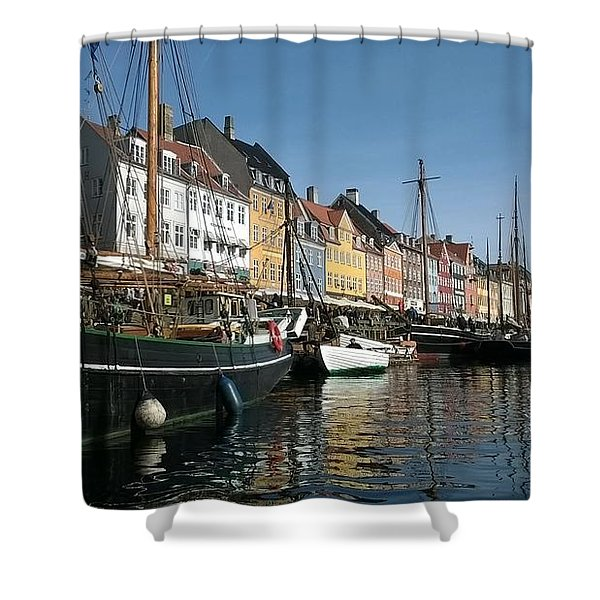 Nyhaven Shower Curtain