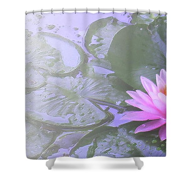 Nz Lily Shower Curtain