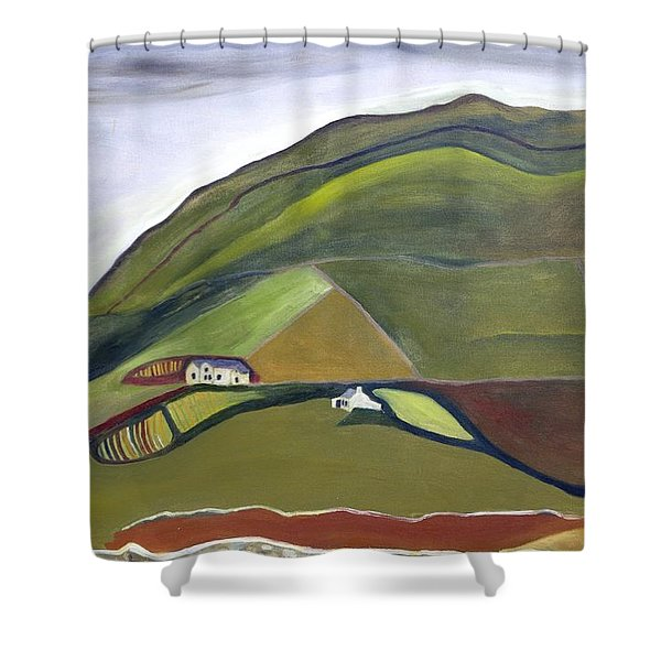 O Mountains That You Skip Shower Curtain