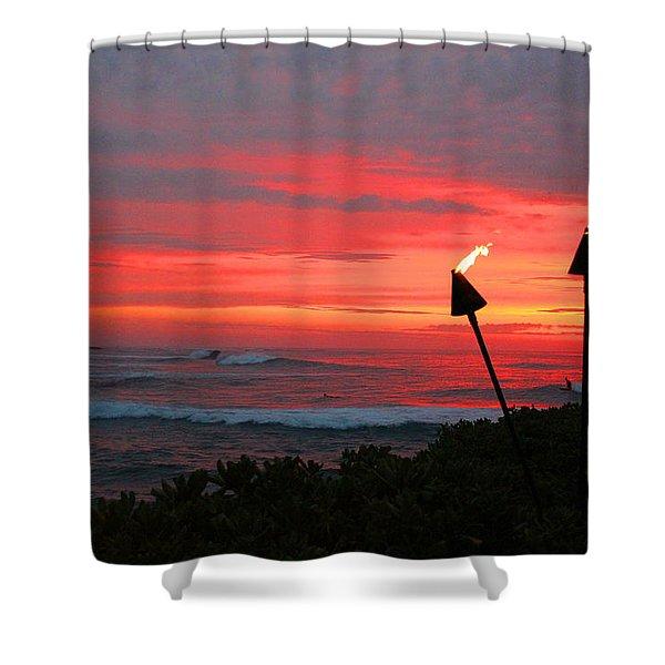 Oahu -hawaii Shower Curtain