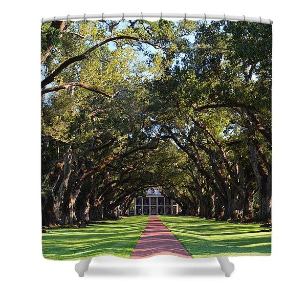 Oak Alley Plantation Shower Curtain