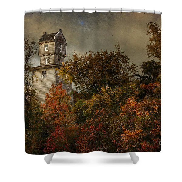 Oakhurst Water Tower Shower Curtain