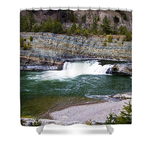 Oasis Of Serenity Shower Curtain