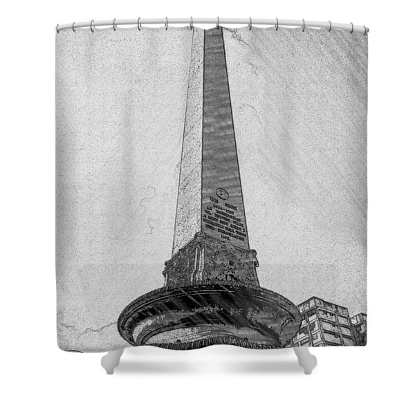 Obelisco Shower Curtain