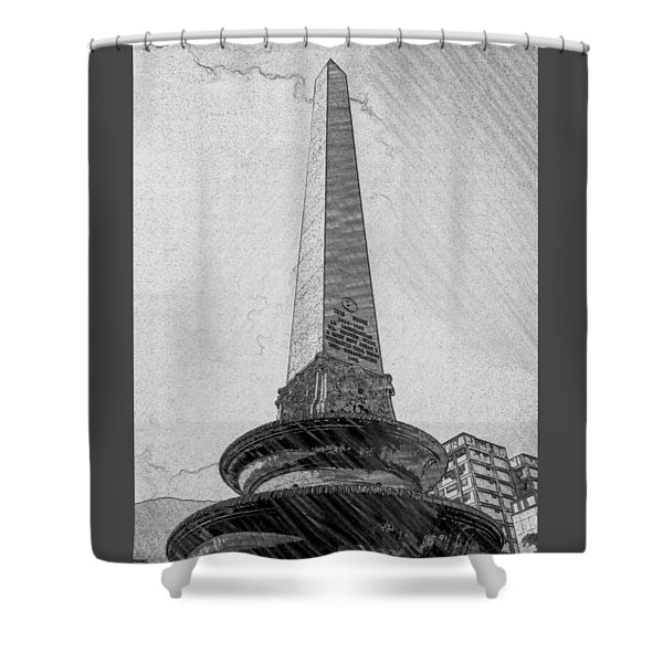 Obelisco Shower Curtain