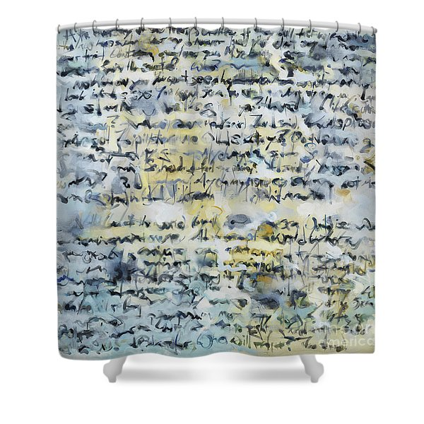 Obsessions Shower Curtain
