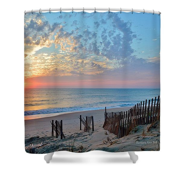 Obx Sunrise September 7 Shower Curtain