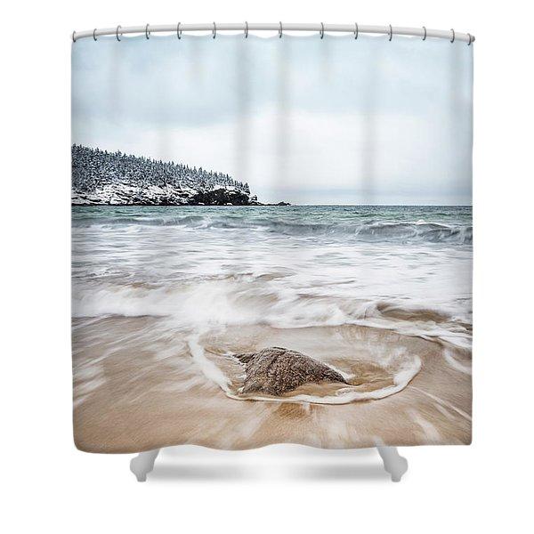 Ocean Flows Shower Curtain