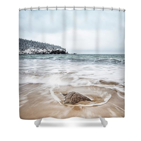 Ocean Flows Shower Curtain