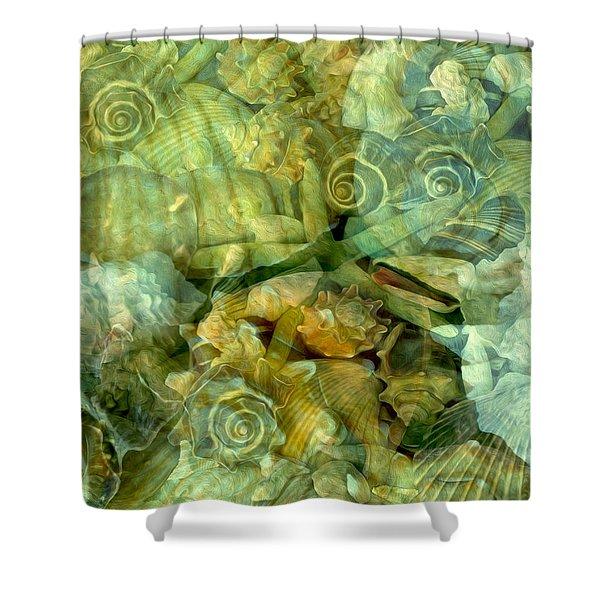 Ocean Gems Underwater Shower Curtain