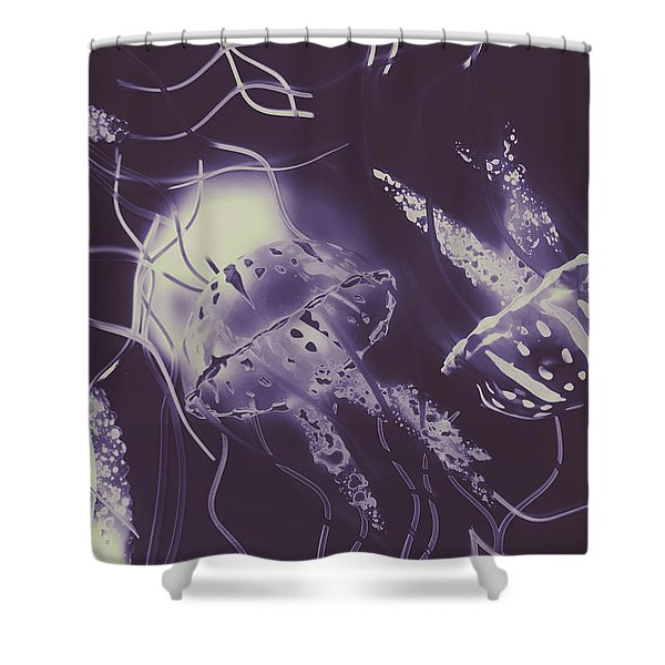 Ocean Liners Shower Curtain