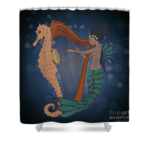 Ocean Lullaby1 Shower Curtain