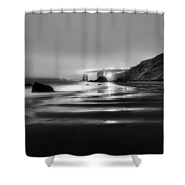 Ocean Rhythm Shower Curtain