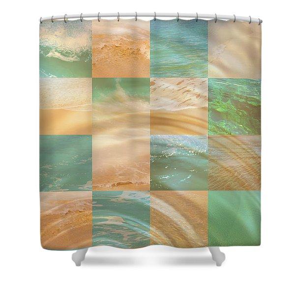 Ocean Ripples Shower Curtain