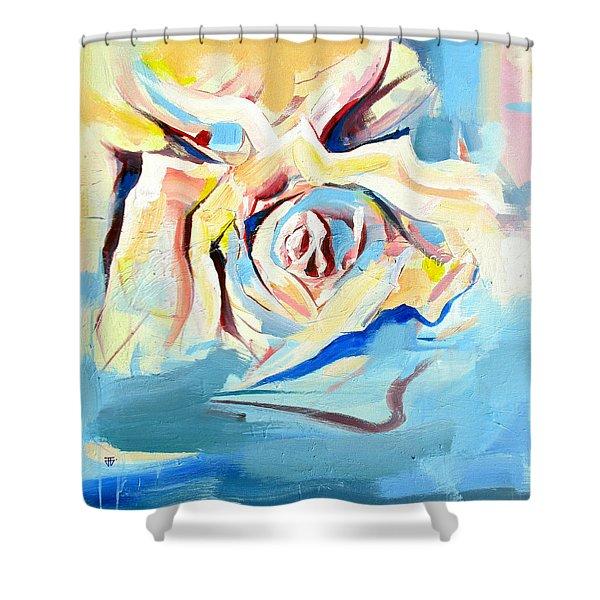 Ocean Rose Shower Curtain