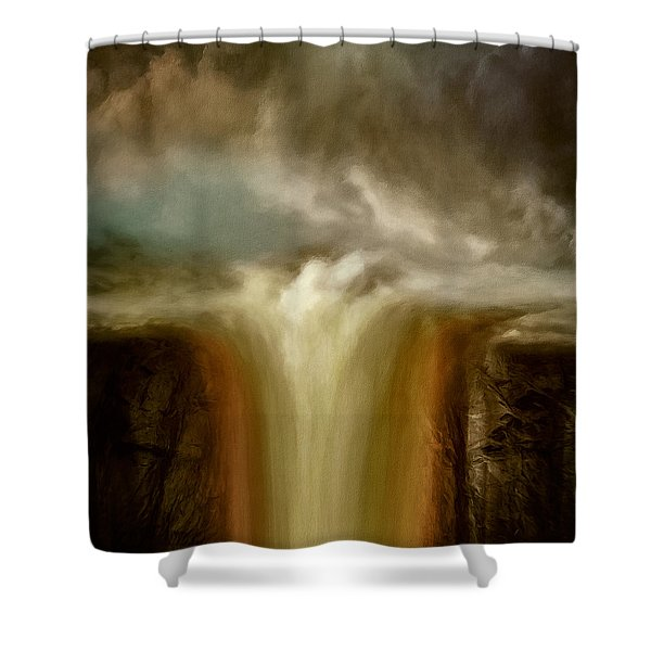 Oceans End Shower Curtain