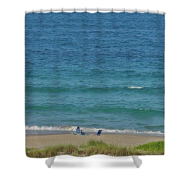 Oceanside Shower Curtain